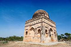 muslim tomb - stock photo