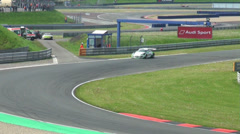 GT Masters race - stock footage