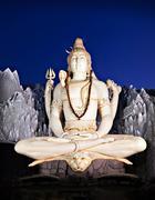 Stock Photo of lord shiva statue