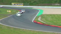 GT Masters race Stock Footage