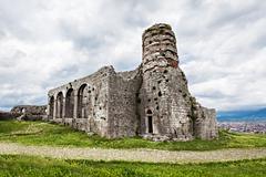 Rozafa castle Stock Photos