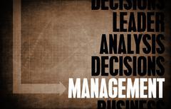 Management Stock Illustration