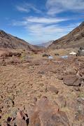 Atlas mountains in morocco Stock Photos