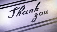 Thank you. Looping. Stock Footage
