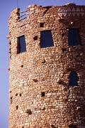 Stock Photo of watchtower of local stones