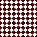 Stock Illustration of red and white diamond pattern repeat background