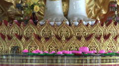 Kek Lok Si Buddhist temple in Penang Malaysia Stock Footage