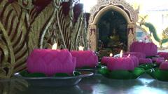 Kek Lok Si Buddhist temple in Penang Malaysia - stock footage