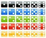 Stock Photo of Dice collection