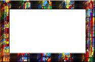 Stock Illustration of Church fantasy portrait frame