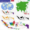 Republic of Indonesia Stock Illustration