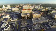 Stock Video Footage of Coral Gables, Florida, Aerial View of the City