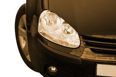 close-up of a great car! - stock photo