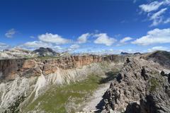Dolomiti -  Odle-Puez massif - stock photo