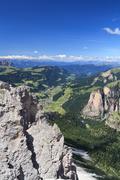 Dolomiti - Val Gardena - stock photo