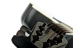 Guitar Fretboard - stock photo