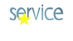 Five Star Service Animation Stock Footage