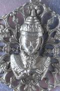 Silver buddha pendant jewel Stock Photos