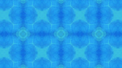 Cerulean motion pattern, loop HD - stock footage