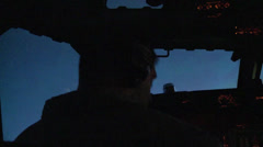 E-3 Sentry AWACS Combat Sortie Over Afghanistan Stock Footage