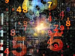 Stock Illustration of Numeric Network