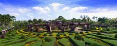 Stonehenge Panorama. - stock photo
