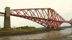 Forth Rail Bridge Stock Footage