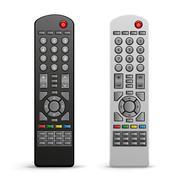 tv remote controller - stock illustration