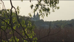 Trinity Orthodox Cathedral of the 17th century Stock Footage