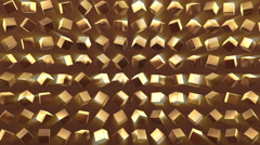 Gold Background pattern - stock footage