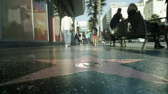 Hollywood Star - stock footage