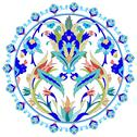 Stock Illustration of ottoman motifs design series with twenty