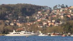 Beykoz Grove, Bosporus coast in Istanbul, Turkey Stock Footage