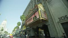 El Capitan Theater - stock footage