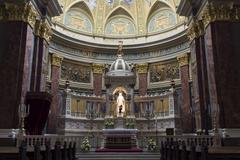 St. Stephen's Basilica, altar - stock photo