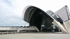 Lyon Gare de Saint-Exupery TGV - stock footage