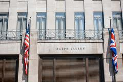 ralph lauren flagship store - stock photo
