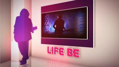 Life Without Music Stock Footage