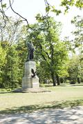 Washington monument, budapest Stock Photos
