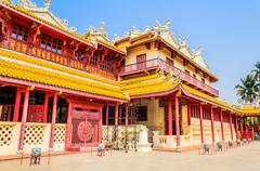 Stock Photo of chinese temple in bang pa-in at ayutthaya thailand