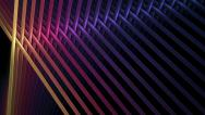 Stock Video Footage of Bright colorful intersected sticks in rotational motion over black background