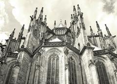 Saint Vitus Cathedral - stock photo