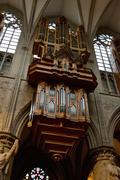 Church pipe organ Stock Photos
