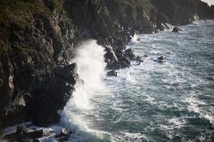 Myrskyinen valtameri breaking wave Kuvituskuvat