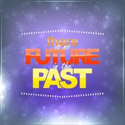 No future in the past Stock Illustration