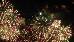 Impressive Independence Day Fireworks Stock Footage
