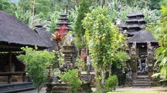 Pura Luhur Batukaru Temple on Bali, Indonesia, Asia Stock Footage