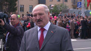 Stock Video Footage of Belarusian President Alexander Lukashenko.