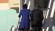 Stock Video Footage of President Obama and Vice President Biden land at  Pennsylvania