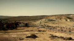 Yeruham, Negev Desert, Israel 3 Stock Footage